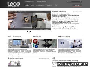Zrzut strony Leco - techniki separacyjne