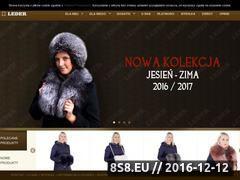 Miniaturka domeny leder.sklep.pl