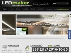 Miniaturka domeny ledmaker.pl