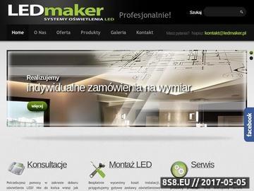 Zrzut strony Sprzedaż i montaż oświetlenia LED