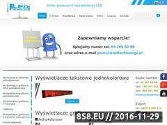 Miniaturka domeny ledtechnology.pl