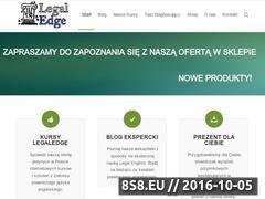 Miniaturka domeny legaledge.pl
