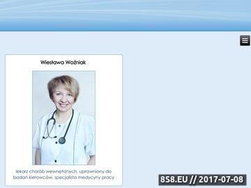 Zrzut strony Badania kierowców Łódź