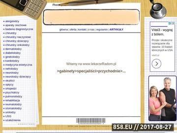 Zrzut strony Gabinety lekarskie - Radom