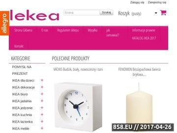 Zrzut strony Oświetlenie i inne akcesoria Ikea do domu