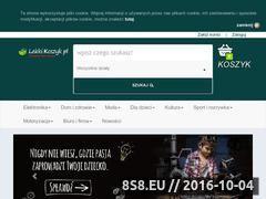 Miniaturka domeny www.lekkikoszyk.pl