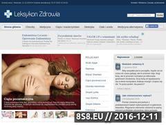 Miniaturka domeny www.leksykonzdrowia.pl