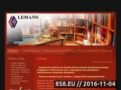 Miniaturka domeny lemans.com.pl