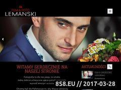 Miniaturka domeny www.lemanski.lca.pl