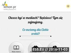 Miniaturka domeny lemonpr.pl