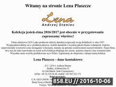 Miniaturka domeny lenaplaszcze.pl