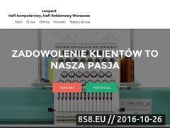 Miniaturka domeny leopard.waw.pl