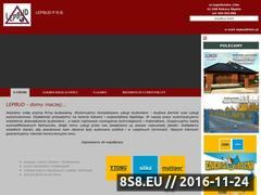 Miniaturka domeny www.lepbud.wbud.pl