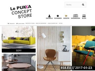 Zrzut strony Lepukka.pl - sklep z designem