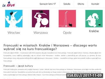 Zrzut strony Francuski Poznań