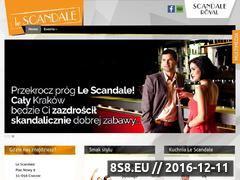 Miniaturka domeny www.lescandale.pl