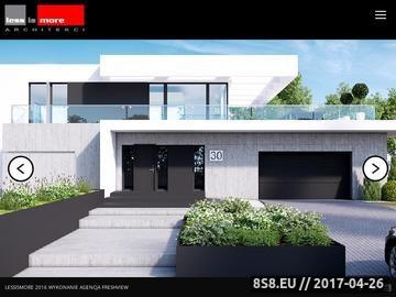 Zrzut strony Architekci Opole