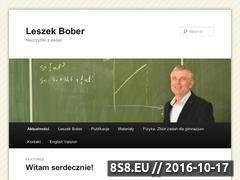 Miniaturka domeny leszekbober.pl