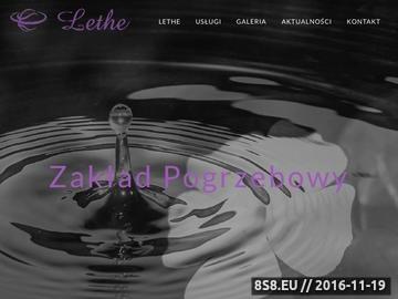 Zrzut strony Zakład pogrzebowy Warszawa Praga