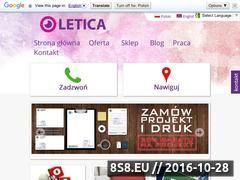 Miniaturka domeny letica.pl