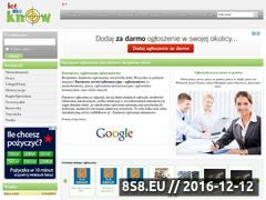 Miniaturka domeny www.letmeknow.pl