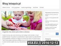 Miniaturka domeny www.letsquiz.pl