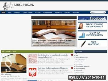 Zrzut strony Porady prawne | opinie prawne | doradztwo podatkowe