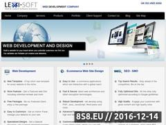 Thumbnail of Web Design and Development in UK | Lexi-Soft Website