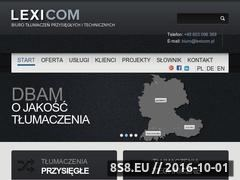 Miniaturka domeny www.lexicom.pl