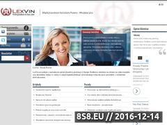 Miniaturka domeny lexvin.com.pl