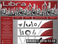 Miniaturka domeny www.libra-sruby.pl