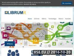 Miniaturka domeny www.librumit.pl