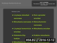 Miniaturka domeny www.licytacje-komornicze.eu