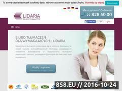 Miniaturka domeny www.lidaria.pl