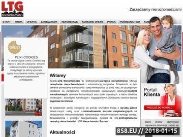 Zrzut strony Lider.poznan.pl - pogotowie techniczne Poznań