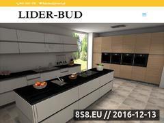 Miniaturka domeny www.liderbud.pl