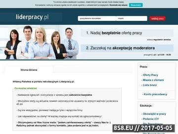 Zrzut strony Bezpłatne oferty pracy