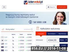 Miniaturka domeny liderwalut.pl