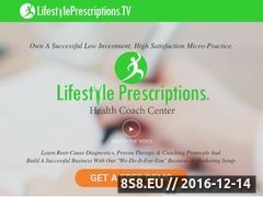 Thumbnail of Lifestyle Prescriptions Website