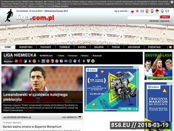 Zrzut strony Bundesliga