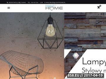 Zrzut strony Lampy sufitowe i zwisy wiszące - w sklepie Light Home