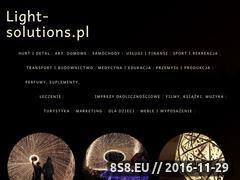 Miniaturka domeny www.light-solutions.pl
