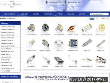 Zrzut strony Żarówki energooszczędne LED