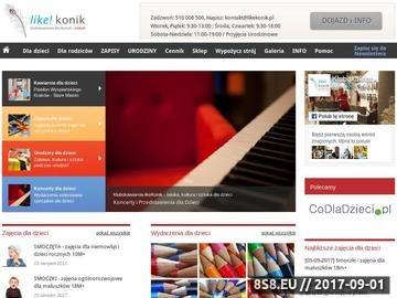 Zrzut strony Kawiarnia dla dzieci Kraków