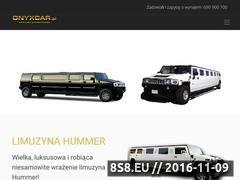 Miniaturka domeny limuzynahummer.pl