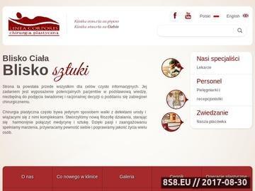 Zrzut strony Odsysanie tłuszczu i korekcja nosa - Linea Corporis