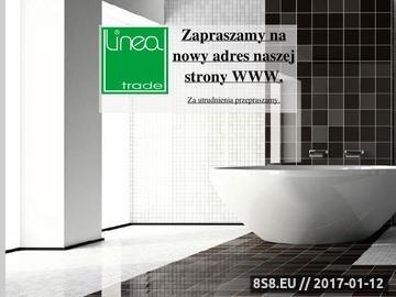Zrzut strony LINEA TRADE - odświeżacze powietrza