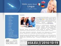 Miniaturka domeny www.lingua.org.pl