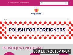 Miniaturka domeny lingualand.pl