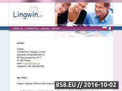 Miniaturka domeny www.lingwin.pl
